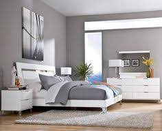 grey wall color scheme and white bedding sets in modern bedroom design ideas bedroom furniture colors