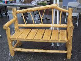 plans to build cedar log bench plans pdf plans cedar bench plans