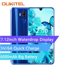 <b>OUKITEL K9 4G Smartphone</b> 7.12 inch Android 9.0 MTK 6757 Octa ...
