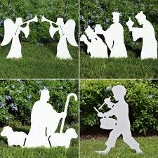 outdoor nativity set e