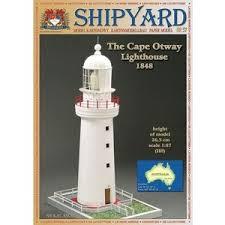 Купить <b>Сборная картонная модель Shipyard</b> маяк Cape Otway ...