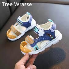Baby Girl Baby Boy <b>Anti Kick</b> Sandals Kids 2020 <b>Summer</b> New ...