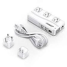 BESTEK Universal Travel Adapter <b>220V to</b> 110V <b>Voltage Converter</b>