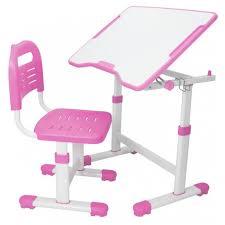 Комплект <b>FunDesk парта</b> + стул трансформеры (<b>Sole II</b> Pink)