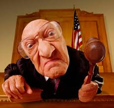 Image result for judge on bench