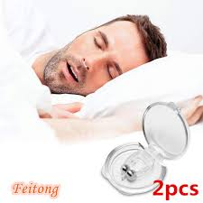 Feitong 2PCS Anti Snoring Snore Free <b>Snore Stopper Silicone Nose</b> ...