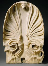 architecture in ancient greece   essay   heilbrunn timeline of art        marble akroterion of the grave monument of timotheos and nikon