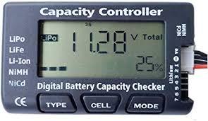 DTXMX Universal RC CellMeter-7 Digital Cell Battery ... - Amazon.com