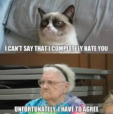 Grumpy Grandma memes | quickmeme via Relatably.com