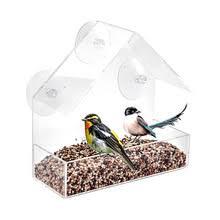 <b>Кормушка для птиц</b>, акриловая <b>прозрачная</b> кормушка для ...