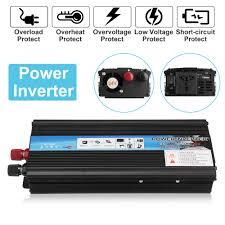 Car <b>Inverter</b> 12V 220V <b>5000W</b> 4000W 3000W <b>Peak Power</b> Voltage ...