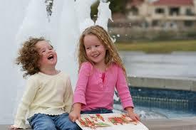 Bright Faces of Children