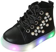 Kauneus Baby Girls Fashion Rhinestone Ankle Boots ... - Amazon.com