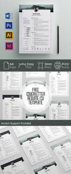 cv resume templates bies graphic design cover letter and resume cv template