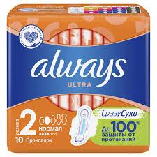 <b>Always</b> ultra <b>normal</b> | Женские гигиенические <b>прокладки</b>