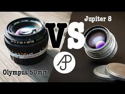 Fast 50 Lens Review | Jupiter vs Olympus [including bokeh tests and ...