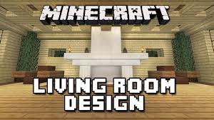 minecraft tutorial how to build a house part 11 living room furniture design youtube build living room furniture