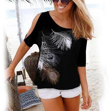 Women Short Sleeve Blouse <b>New</b> Summer <b>2018 Casual</b> O Neck ...