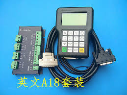 richauto dsp a18 4 axis cnc controller a18s a18e usb linkage motion control system manual for router newcarve