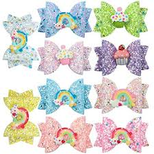 XIMA 10pcs hair bows for girls Children Barrettes Kid ... - Amazon.com