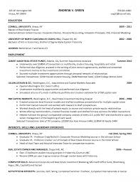 mergers and acquisitions resume template investment banker resume investment banking resume template investment banker resume