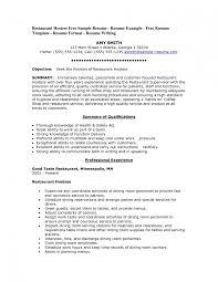 fabulous objective for server resume brefash food server resume server resume example sample resume objective for banquet server resume objective for server