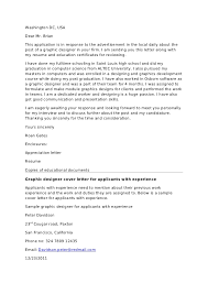 Perfect Simple Graphic Design Engineering Internship Cover Letter