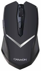 <b>Мышь Canyon CNE</b>-<b>CMSW3</b> Black USB — купить по выгодной ...