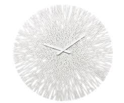 <b>Часы настенные</b> Koziol <b>SILK</b> белые купить за 4 500 руб. в Москве ...