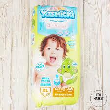 <b>Подгузники</b>-<b>трусики</b> Yoshioki для <b>детей</b>, размер <b>XL</b>, 12+ кг ~ 38 шт