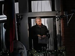 julian assange living in s embassy business insider