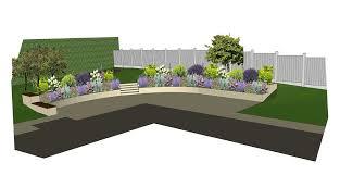 Small Picture Rear Garden Design Visualisation Garden Design Layout Garden