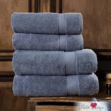 <b>Набор из 4 полотенец</b> aberdeen цвет: серо-голубой (50х90 см - 2 ...