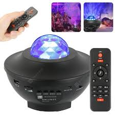 LED Galaxy Starry Night Light Projector Ocean Star Sky Party Baby ...