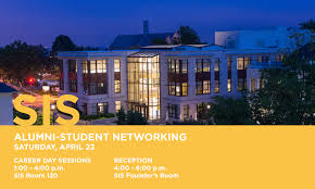 university career center sis alumni student networking reception 22 2017