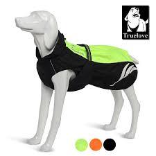 Truelove Reflective <b>Dog Clothes Pet</b> Dog Raincoat Yellow ...
