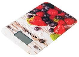 Купить <b>Кухонные весы ENDEVER Chief</b>-<b>508</b> серый/красный по ...