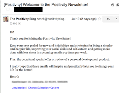 best practices for bb welcome emails examples positivityblogthankyouwelcome b2b welcome emails