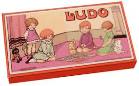 Image result for 50's toys and games UK LUDO