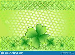 Saint Patrick`s Day Background Stock Vector - Illustration of culture ...