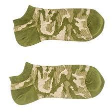 No Show <b>Socks Man</b> Vintage Cotton <b>Socks</b> Camouflage Print Short ...