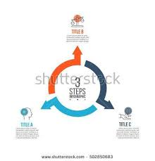 Vector <b>arrows</b> infographic. Template for cycle diagram, graph ...