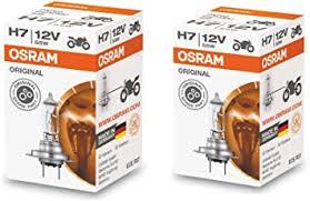 Osram H7 Halogen Headlight Bulbs 64210L 12V 55W ... - Amazon.com