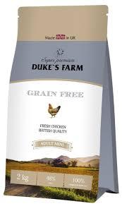 Корм для собак <b>DUKE'S</b> FARM курица 2 кг (для мелких пород ...