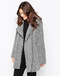 Полушерстяное <b>пальто Ichi</b> - Черный | Womansmyle - каталог ...