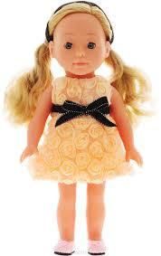 <b>Bambolina Кукла</b> Boutique цвет <b>одежды</b> персиковый 30 см ...