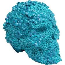 <b>Копилка Skull</b> Flowers голубая | <b>KARE</b> Tallinn