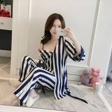 <b>BZEL Sleep Lounge</b> Women <b>Pajamas</b> Sets With Chest Pad ...