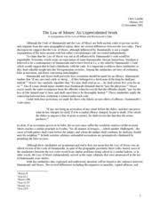 history   world civ   byu   course hero pages final essay   hammurabi vs moses