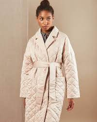 Coat quilted on the belt — <b>12Storeez</b>